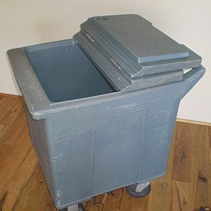 Cooler Bins On Wheels