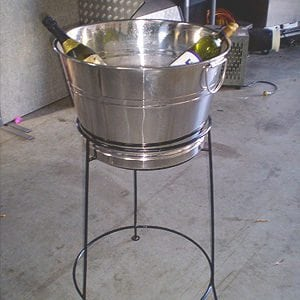 Stainless Steel Tub Stand