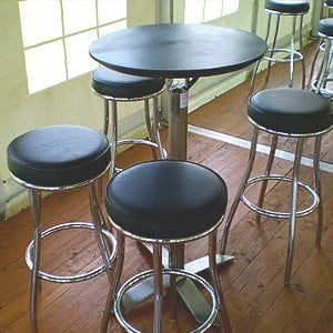 Black Dry Bar Stools